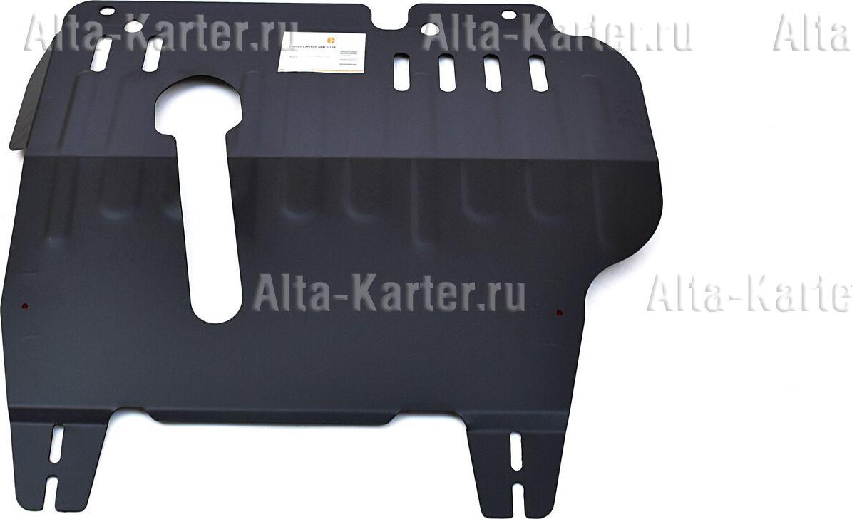 Защита Alfeco для картера и АКПП Nissan Cube II 2WD; 4WD 2002-2008. Артикул ALF.15.03