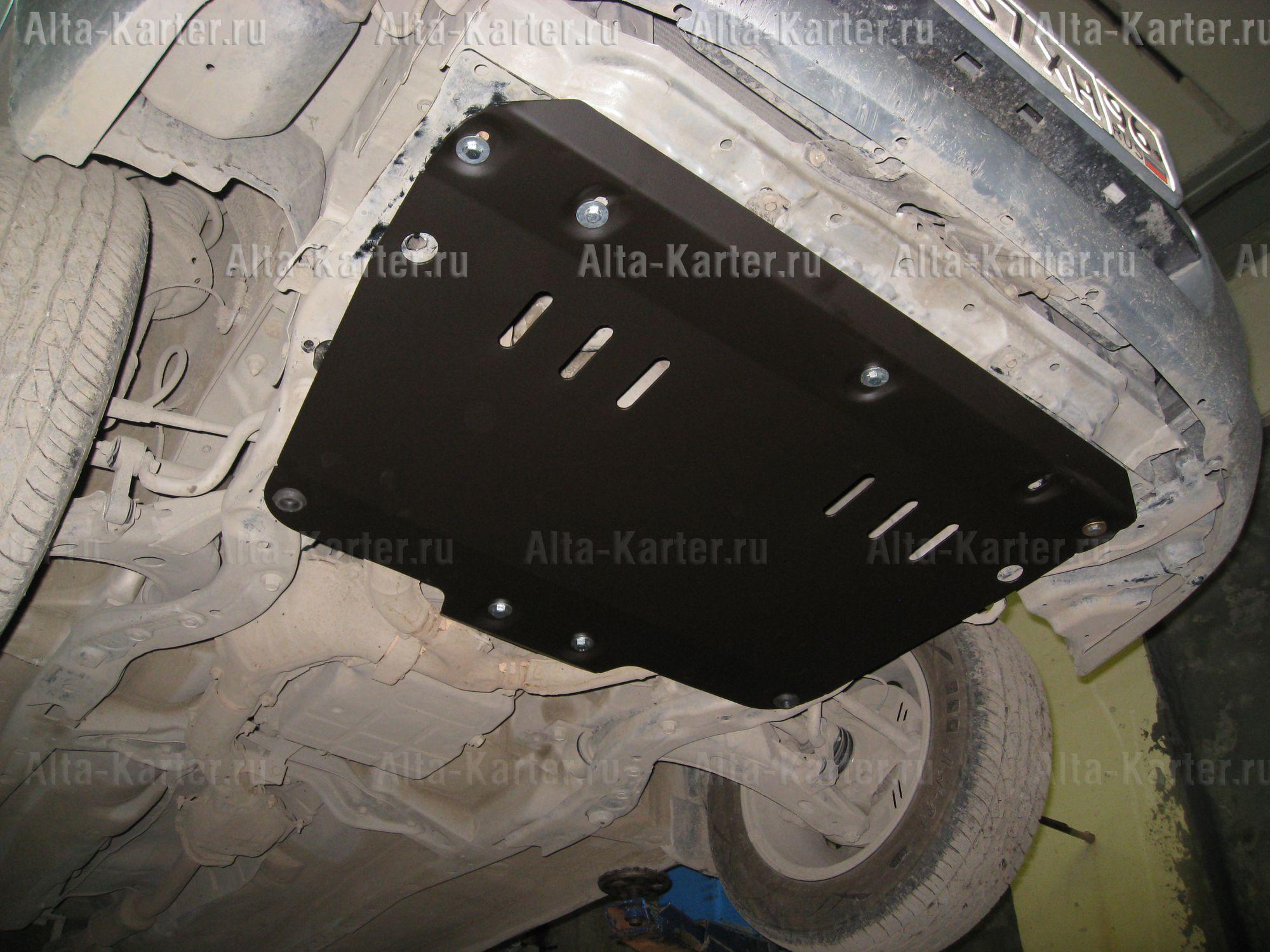 Защита Alfeco для картера Subaru Impreza II GD, GG правый руль 2000-2007. Артикул ALF.22.30