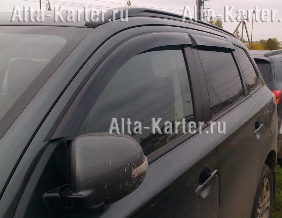 Дефлекторы Cobra Tuning EuroStandart для окон Mitsubishi Outlander III 2012 по наст. вр.. Артикул ME43712