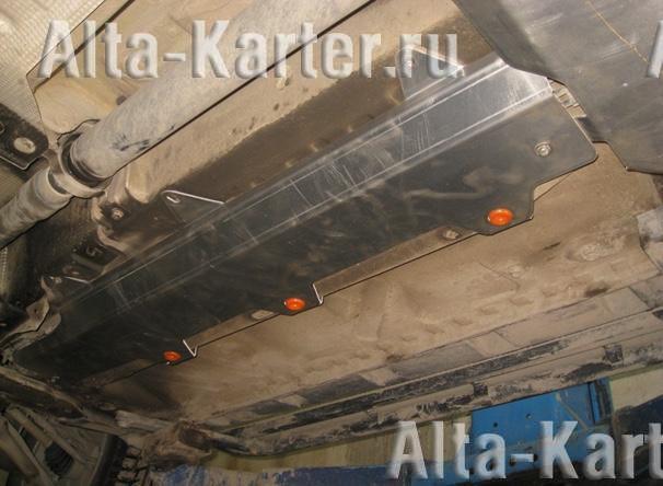 Защита Alfeco для топливопровода Renault Duster 2012-2015. Артикул ALF.18.06