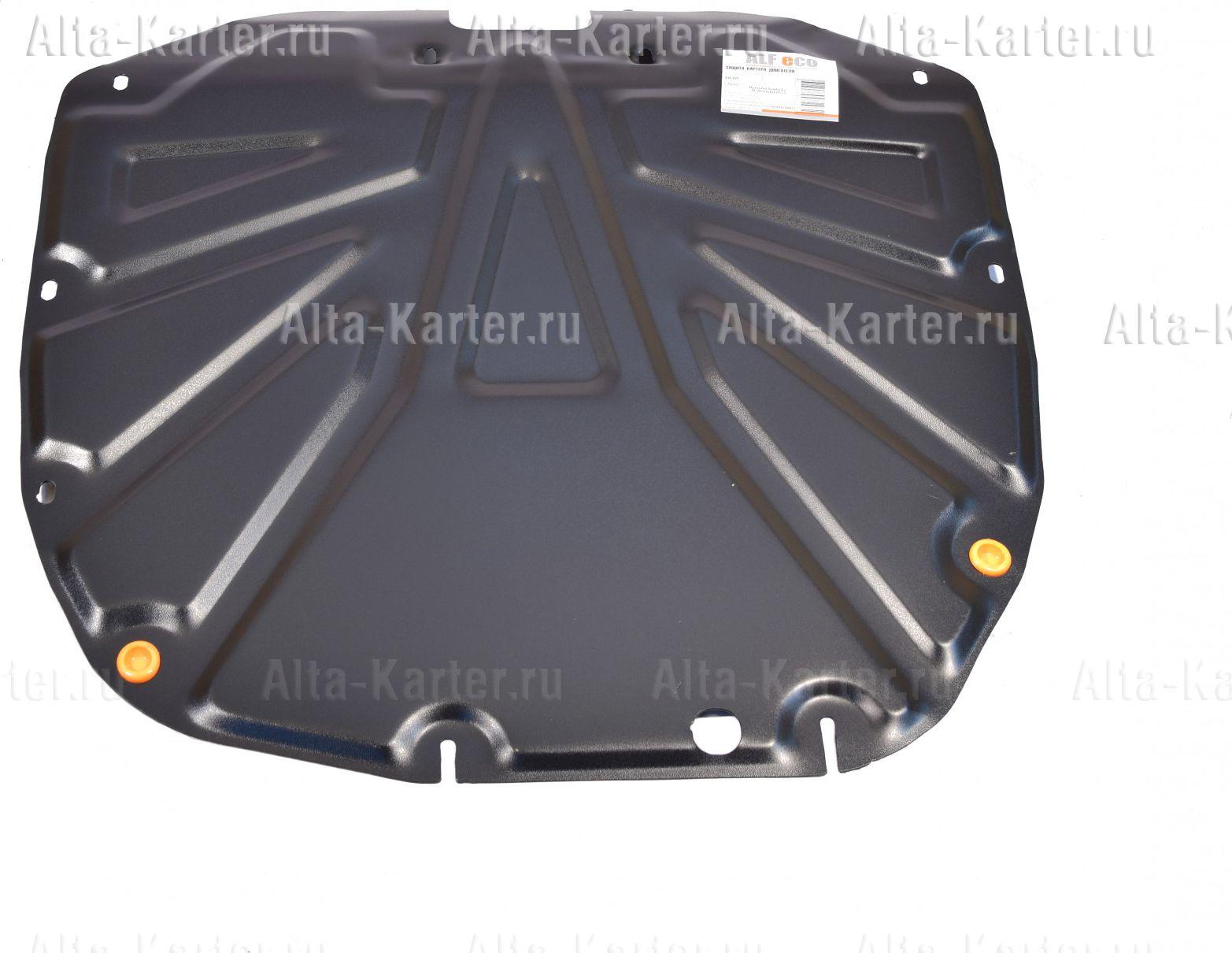Защита Alfeco для картера и КПП Hyundai Santa Fe II 2010-2012. Артикул ALF.10.18 st