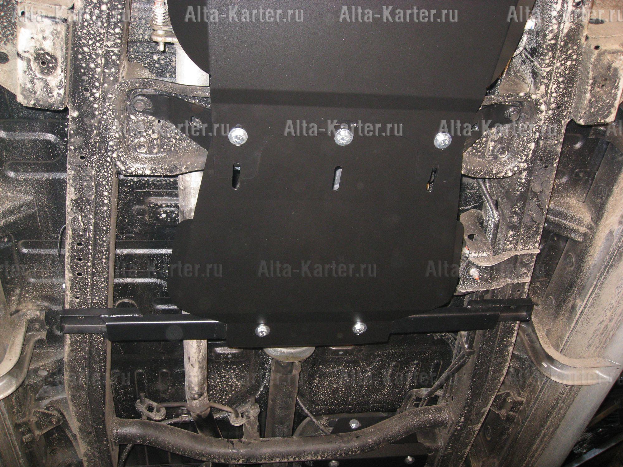 Защита Alfeco для раздатки (часть 2) Mitsubishi Pajero Sport II 2008-2015. Артикул ALF.14.09.2 st