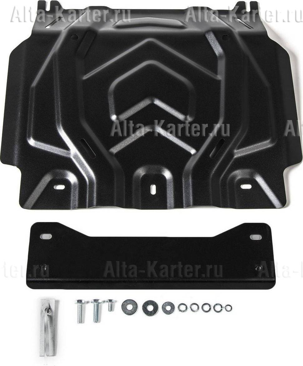 Защита Rival для картера Mitsubishi L200 V, V рестайлинг 2015-2021. Артикул 111.4041.2