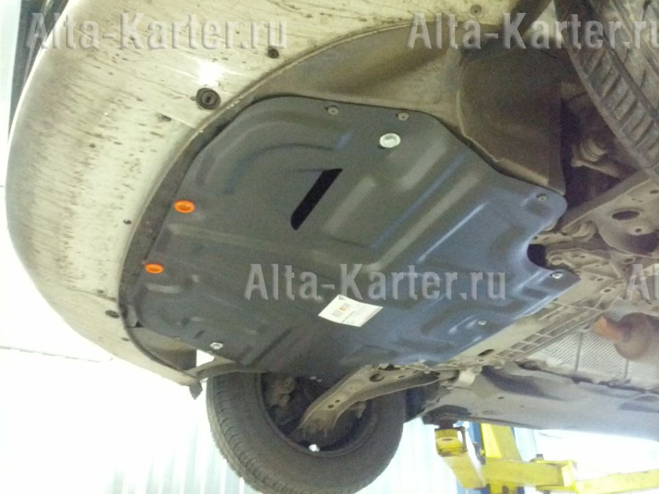 Защита Alfeco для картера и КПП Skoda Octavia A5 2004-2013. Артикул ALF.20.12 st