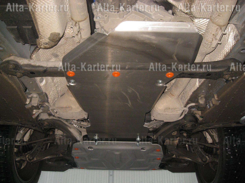 Защита Alfeco для АКПП и РК Volkswagen Touareg II 2010-2018. Артикул ALF.26.30