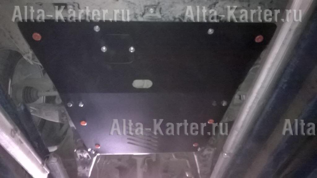 Защита Alfeco для картера и МКПП Jaguar X-Type 2001-2009. Артикул ALF.44.02