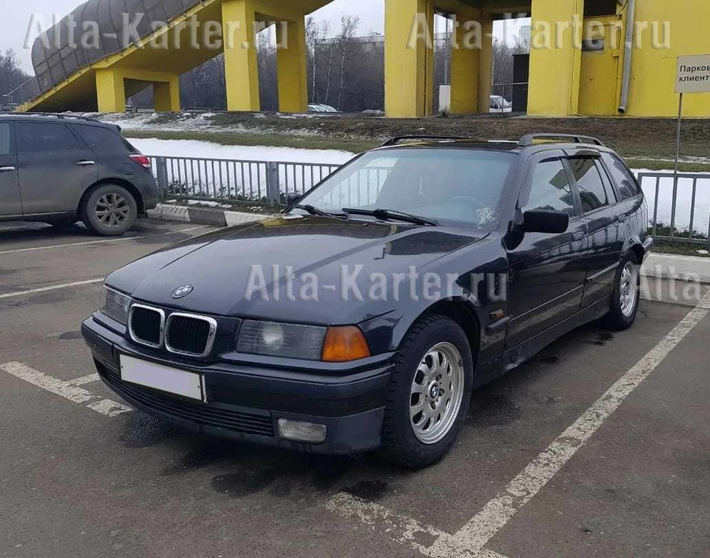Дефлекторы Cobra Tuning для окон BMW 3 E36 универсал 1991-1998. Артикул B21995