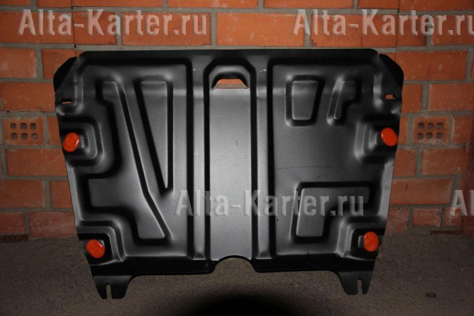 Защита Alfeco для картера и КПП Toyota Highlander II рестайлинг 2010-2013. Артикул ALF.24.59