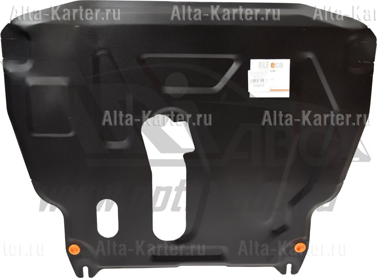 Защита Alfeco для картера и КПП Ravon R3 Nexia 2015-2021. Артикул ALF.05.05 st