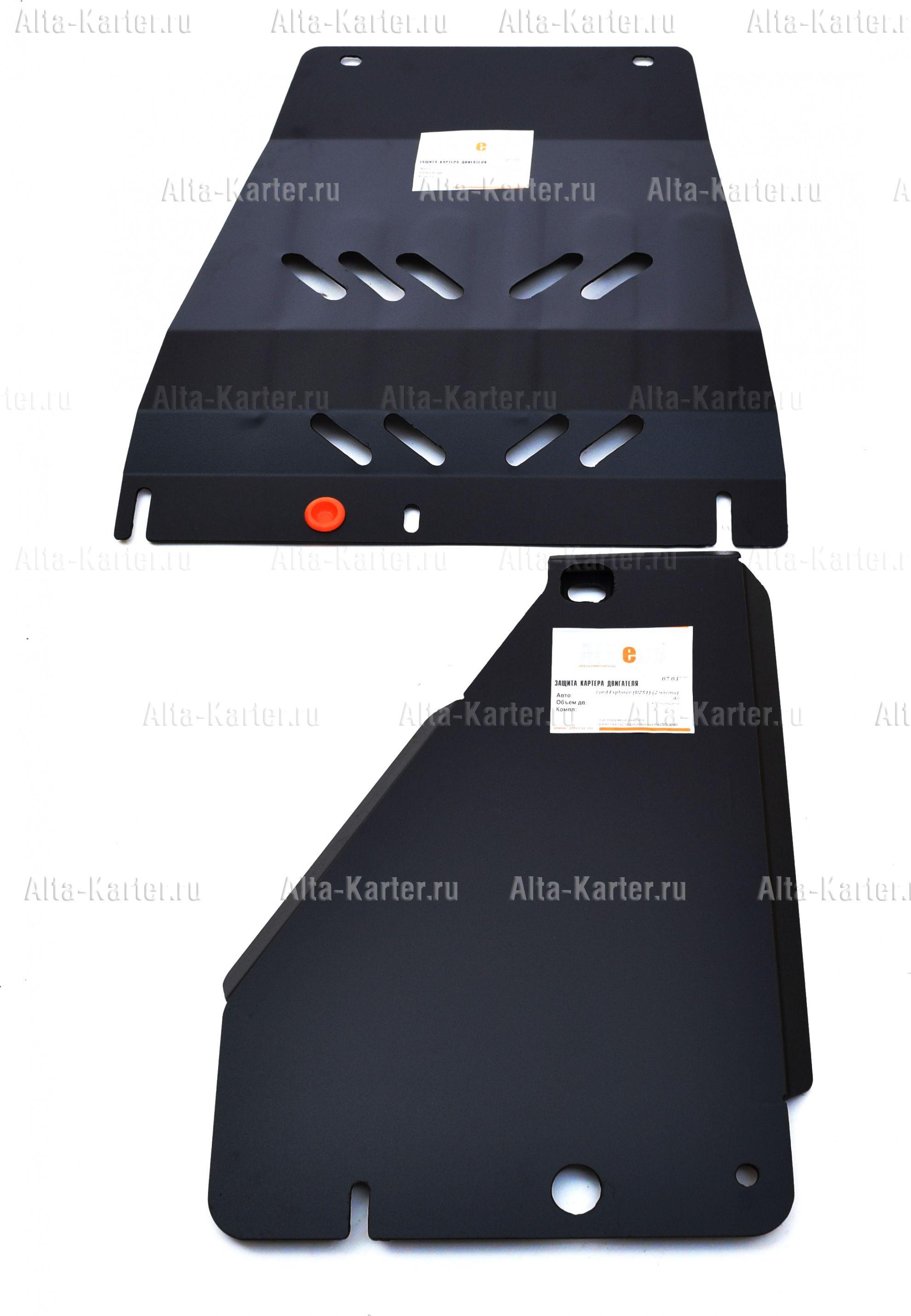 Защита Alfeco для КПП и раздатки Ford Explorer IV U251 2005-2010. Артикул ALF.07.03