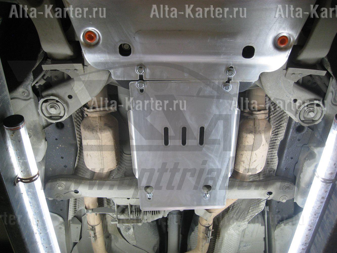 Защита 'ТриАВС' для КПП Porsche Cayenne II 2010-2017. Артикул 26.843.C2
