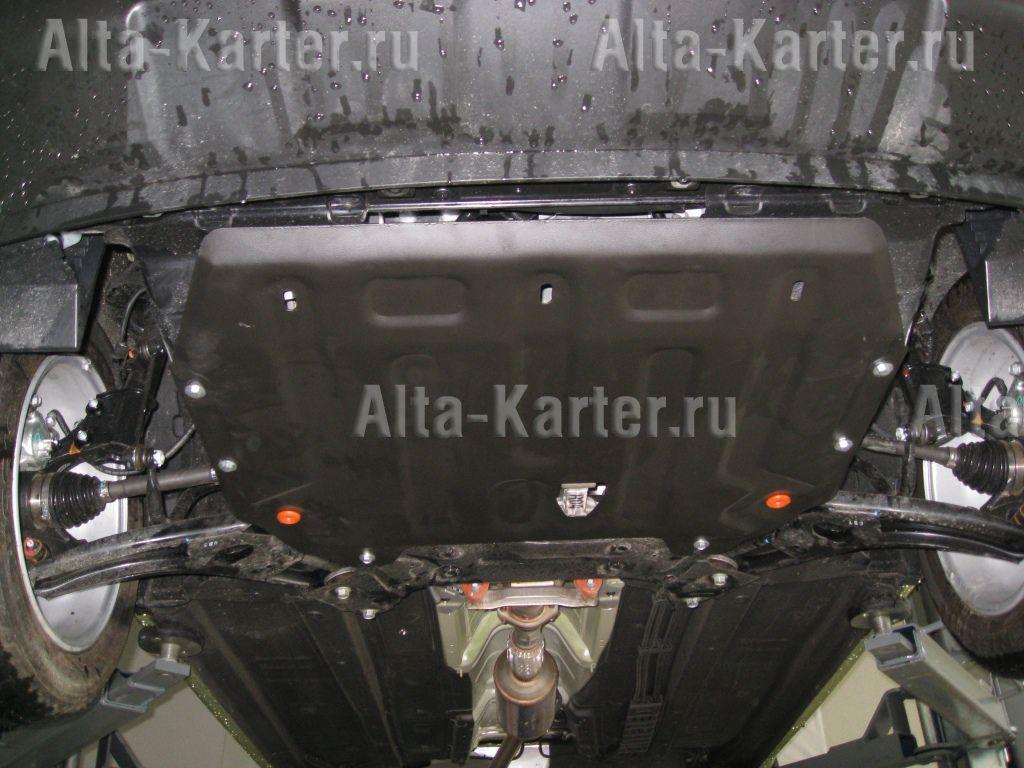 Защита Alfeco для картера и КПП Kia Picanto II 2011-2017. Артикул ALF.11.26 st