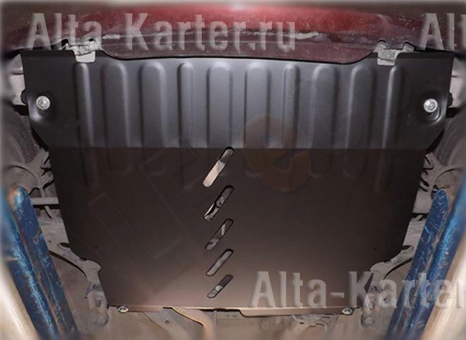 Защита Alfeco для картера и КПП Toyota Passo 2004-2010. Артикул ALF.24.102st