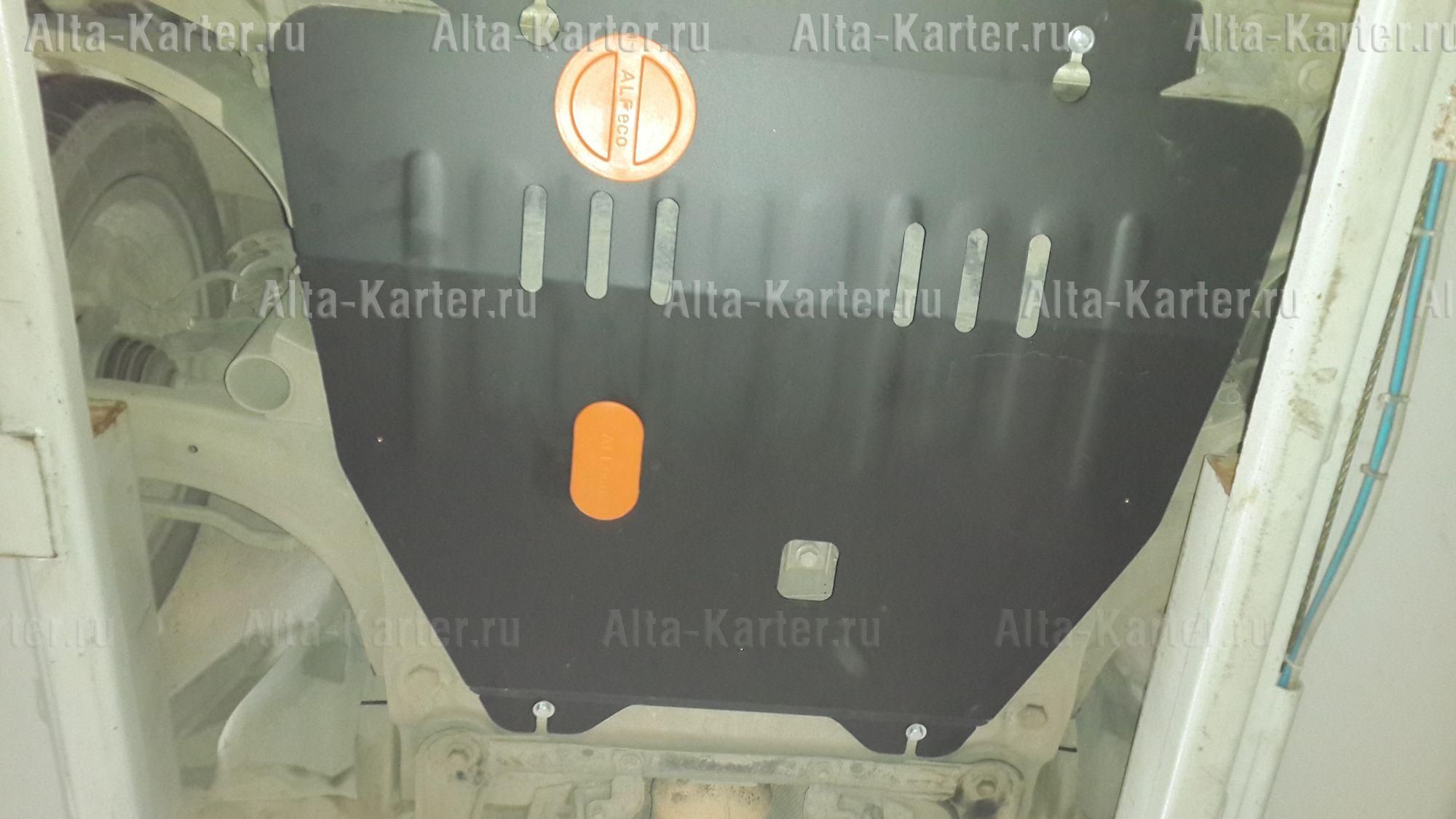 Защита Alfeco для картера и КПП Renault Scenic III 2009-2016. Артикул ALF.18.16