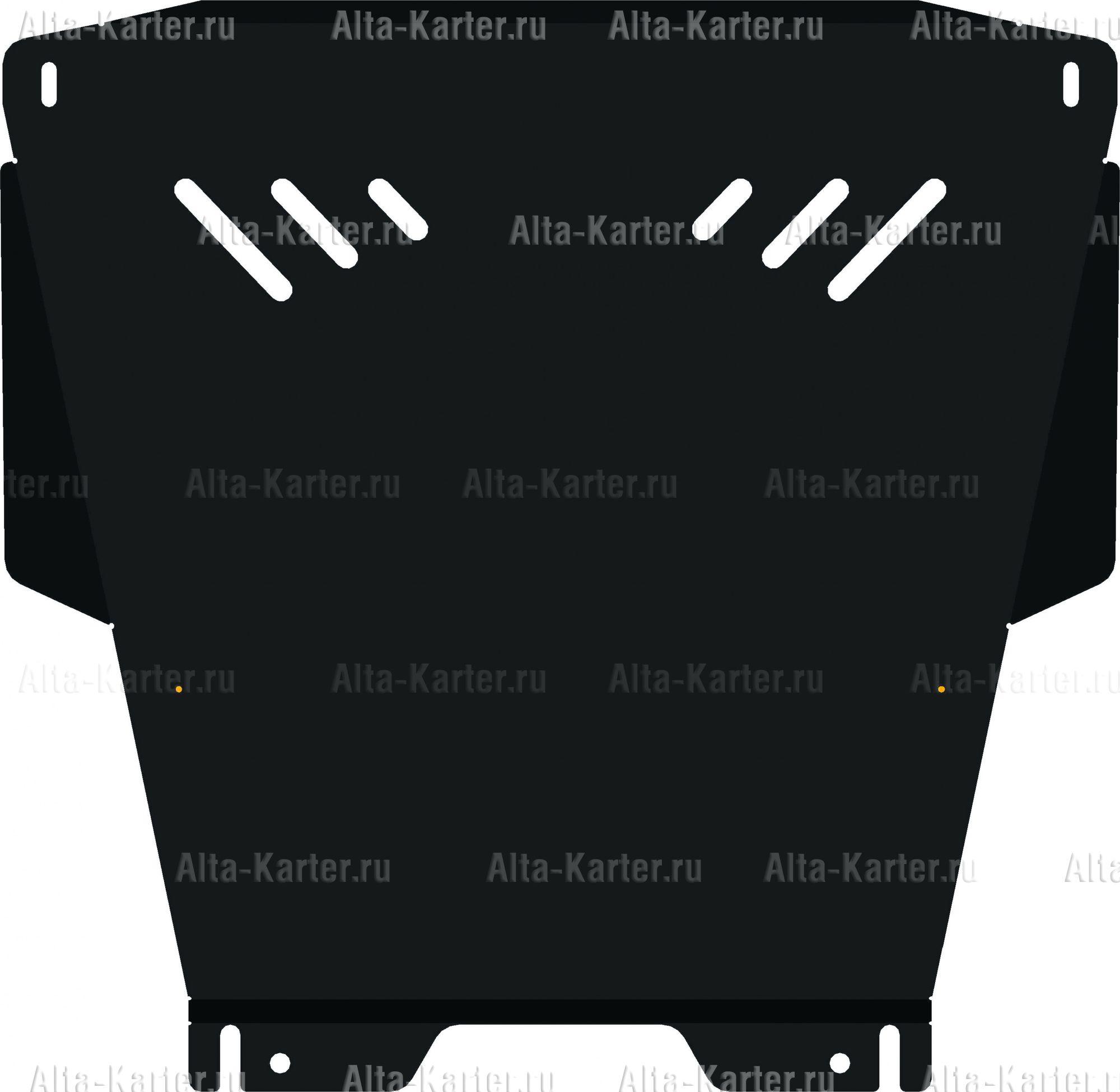 Защита Alfeco для картера и КПП Toyota Raum II 2003-2011. Артикул ALF.24.87