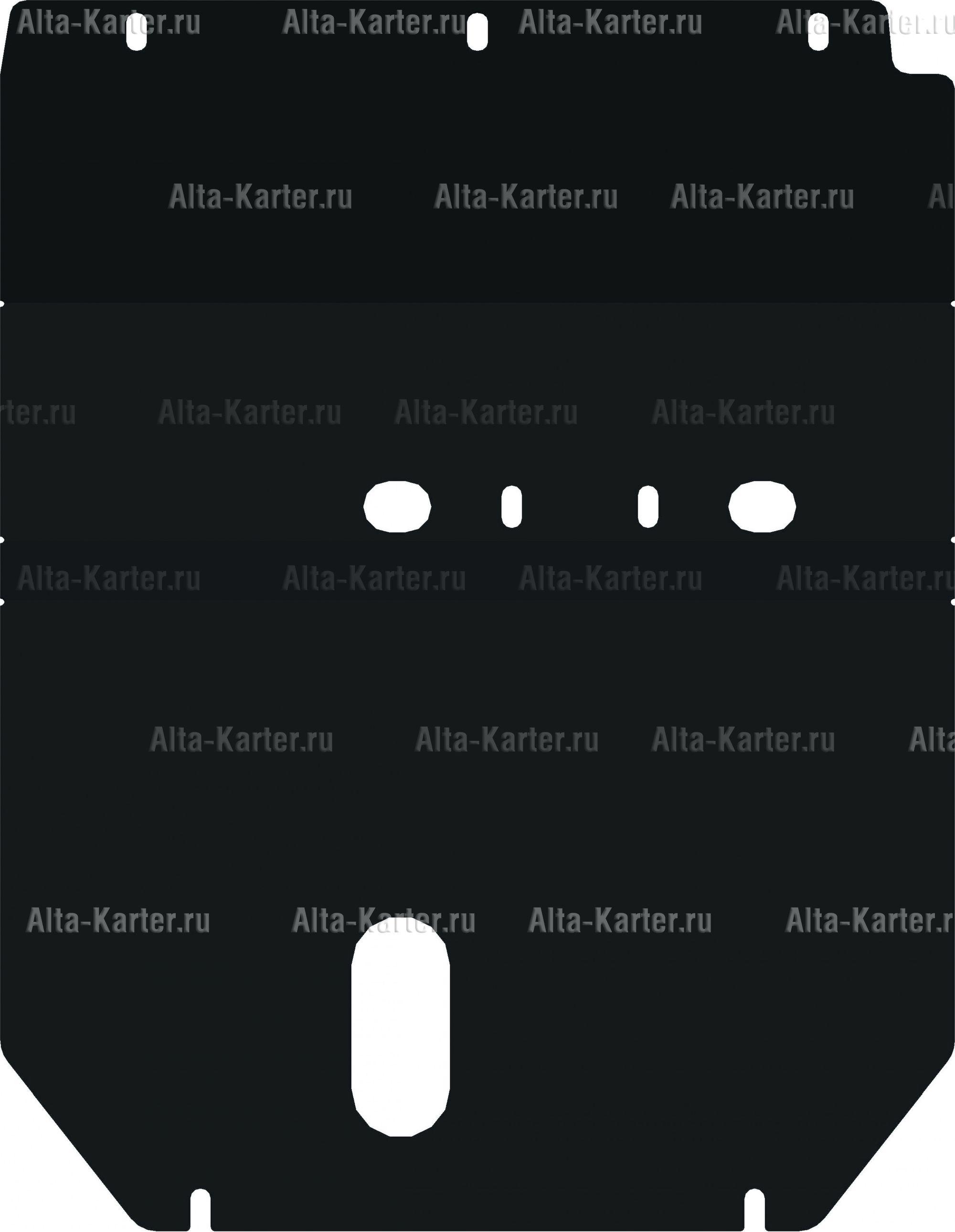 Защита Alfeco для картера Daihatsu Be-go 2006-2016. Артикул ALF.24.78