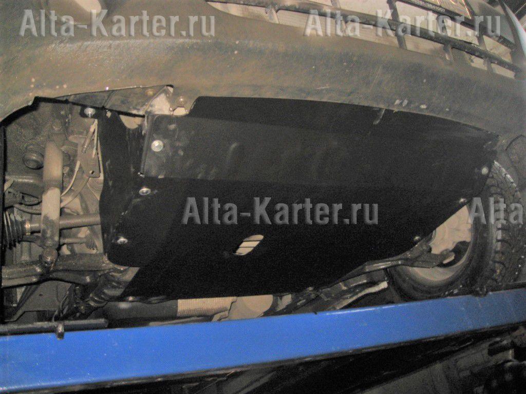 Защита Alfeco для картера и КПП Renault Master II рестайлинг 2003-2010. Артикул ALF.18.07