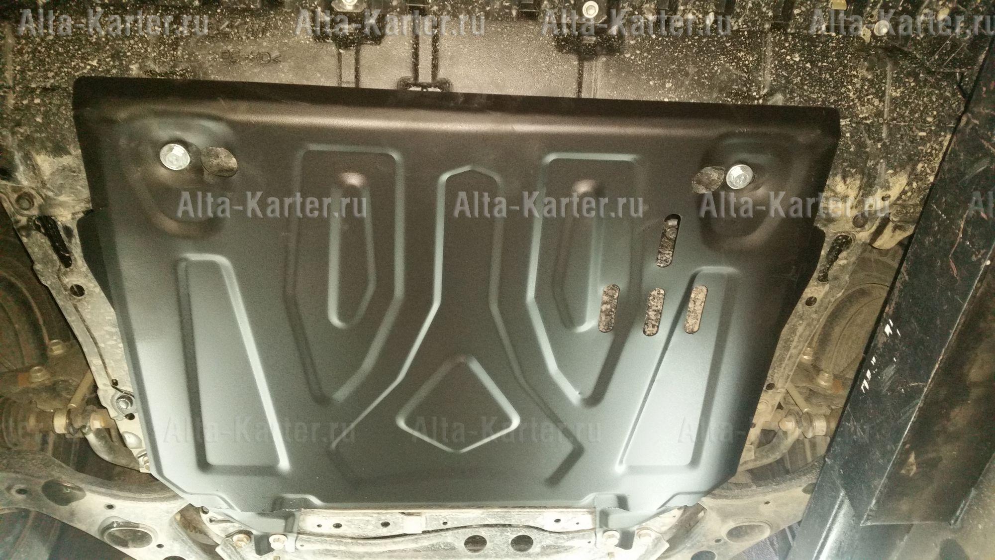 Защита Alfeco для картера и КПП Toyota RAV4 IV 2013-2019. Артикул ALF.24.660st
