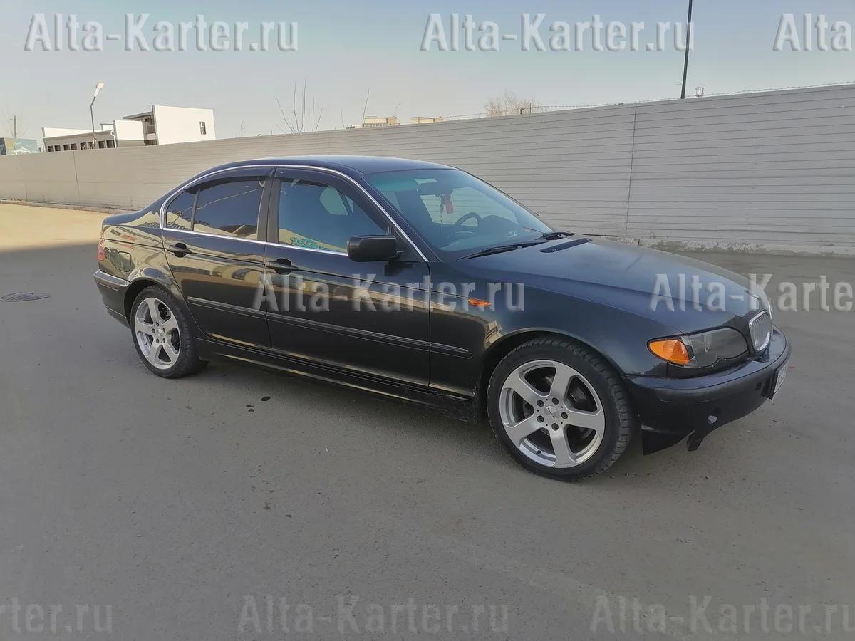 Дефлекторы Cobra Tuning для окон BMW 3 E46 седан 1998-2005. Артикул B21298