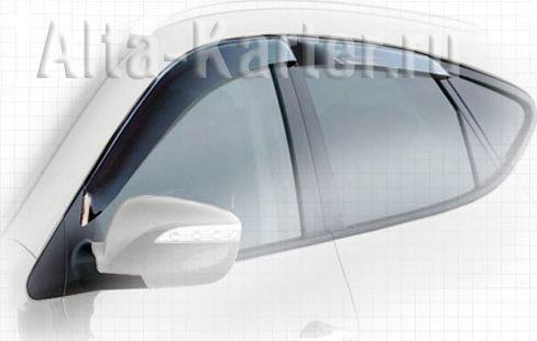Дефлекторы Cobra Tuning для окон Jaguar XJ (X351) 2009 по наст. вр.. Артикул J20309