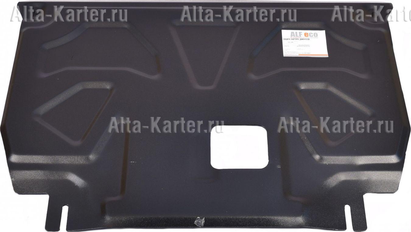 Защита Alfeco для картера и КПП Kia Sorento Prime 2018-2021. Артикул ALF.11.38st