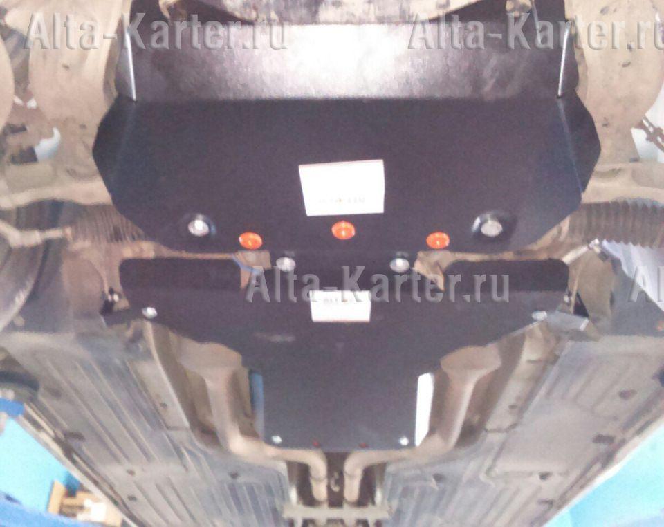 Защита Alfeco для картера и КПП Jaguar XJ  X351 2009-2021. Артикул ALF.44.01