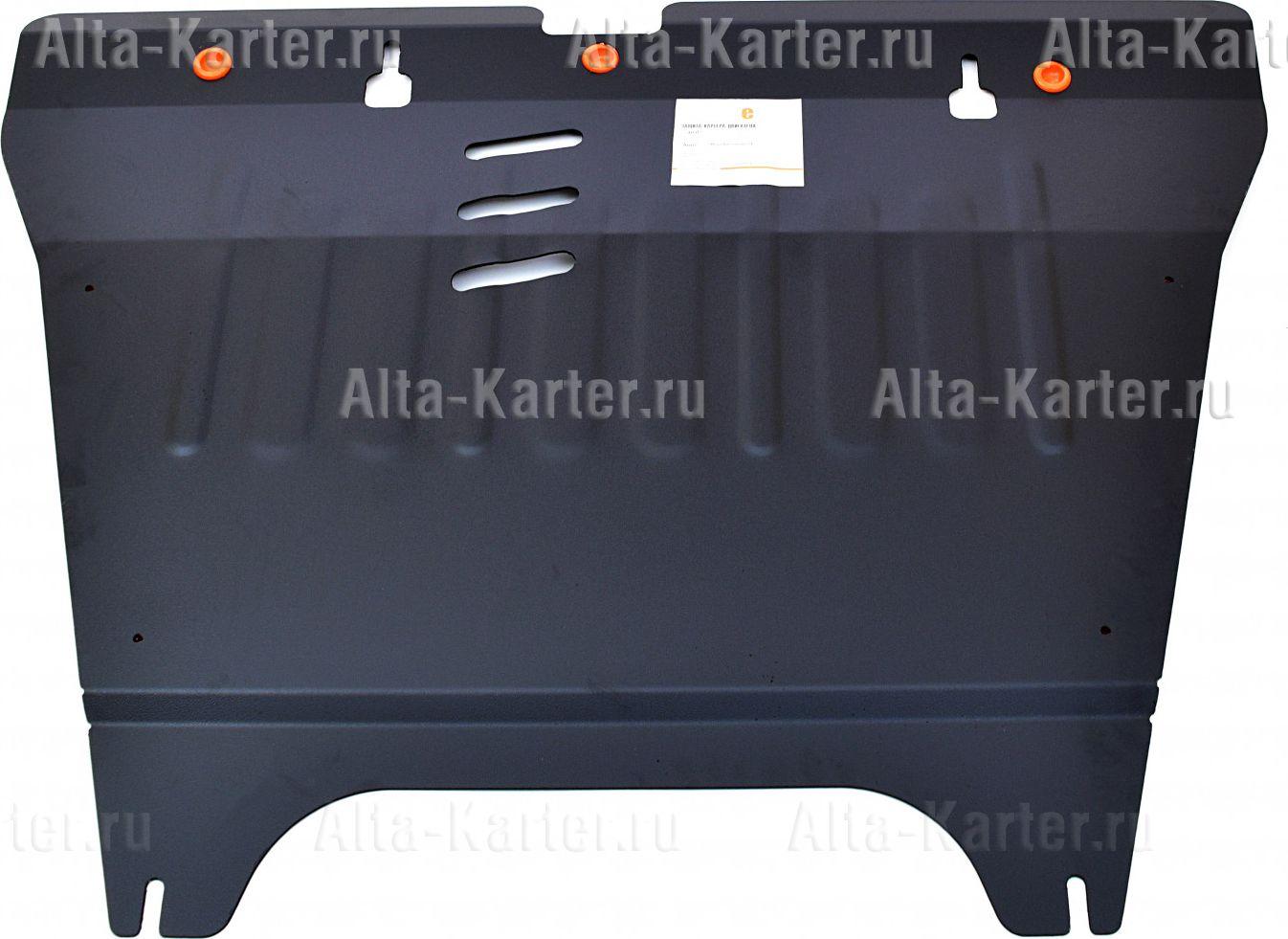 Защита Alfeco для картера и КПП Hyundai Grandeur IV 2006-2011. Артикул ALF.10.07