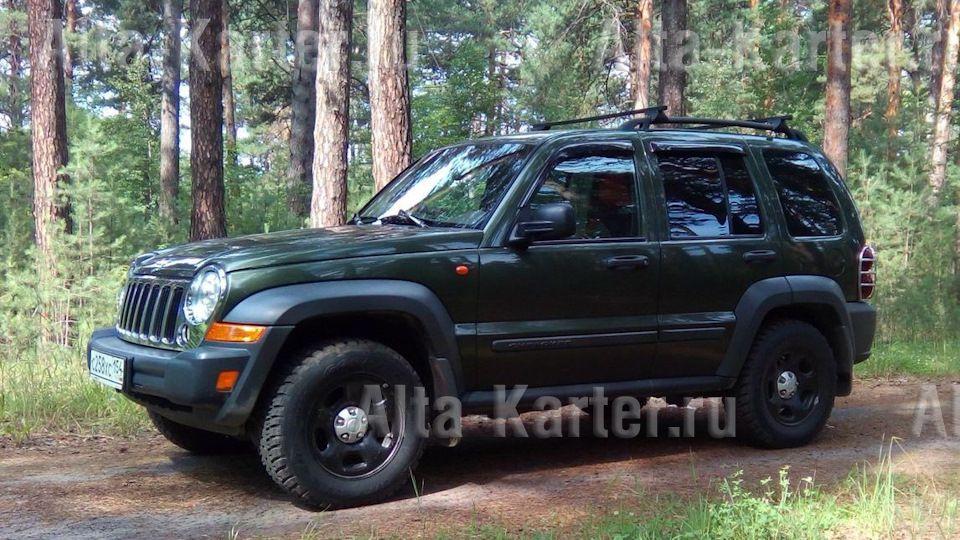 Дефлекторы Cobra Tuning для окон Cherokee KJ (Cherokee в России, Liberty в США) 2002-2007. Артикул J10101