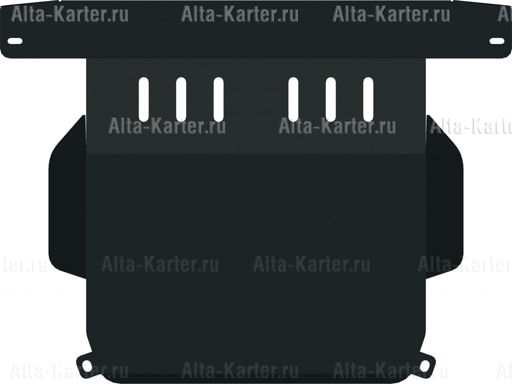 Защита Alfeco для картера и КПП Suzuki Liana 4x4 2001-2007. Артикул ALF.23.09
