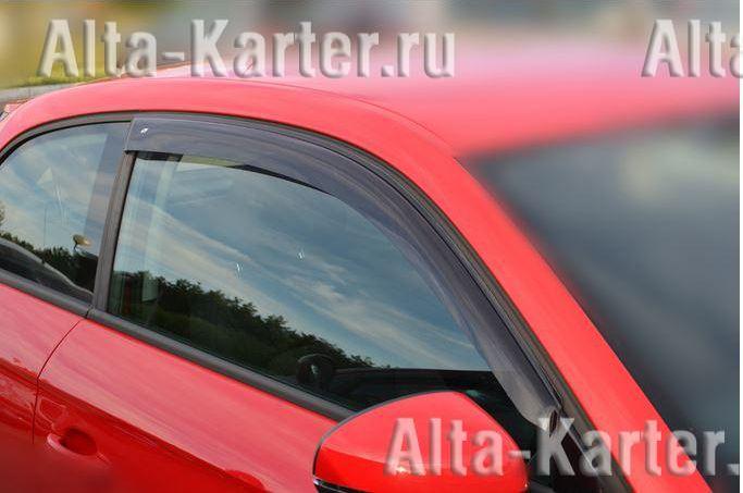 Дефлекторы Cobra Tuning EuroStandart для окон Kia Ceed II 3-дв. 2012-2017. Артикул KE13812