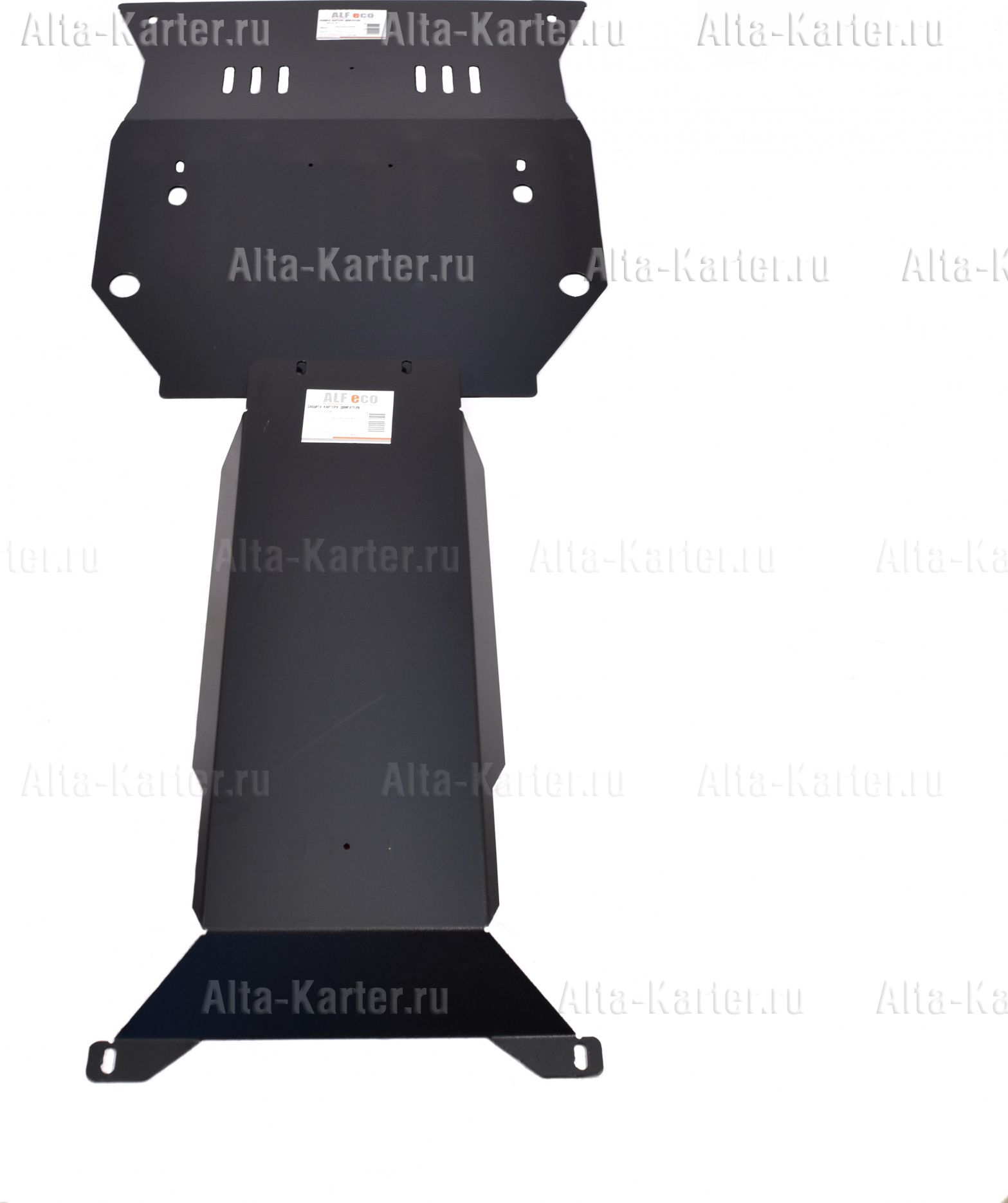 Защита Alfeco для картера и КПП Chevrolet Camaro 2010-2021. Артикул ALF.03.22