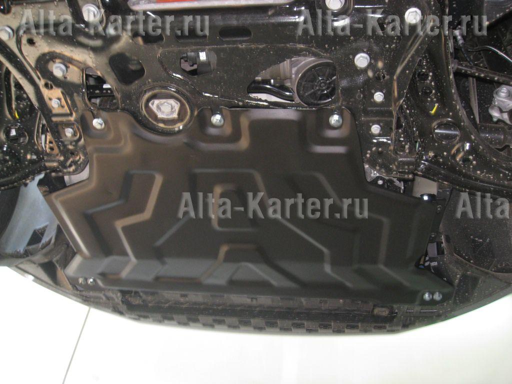 Защита Alfeco для картера и КПП Volkswagen Golf VII 2012-2021. Артикул ALF.30.33 st