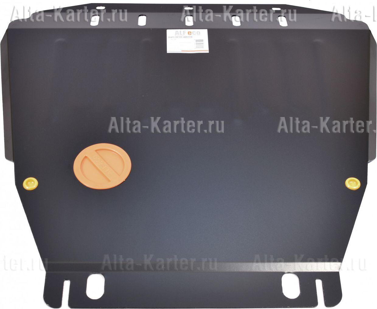 Защита Alfeco для картера и КПП Ford Transit Connect 2002-2021. Артикул ALF.07.20