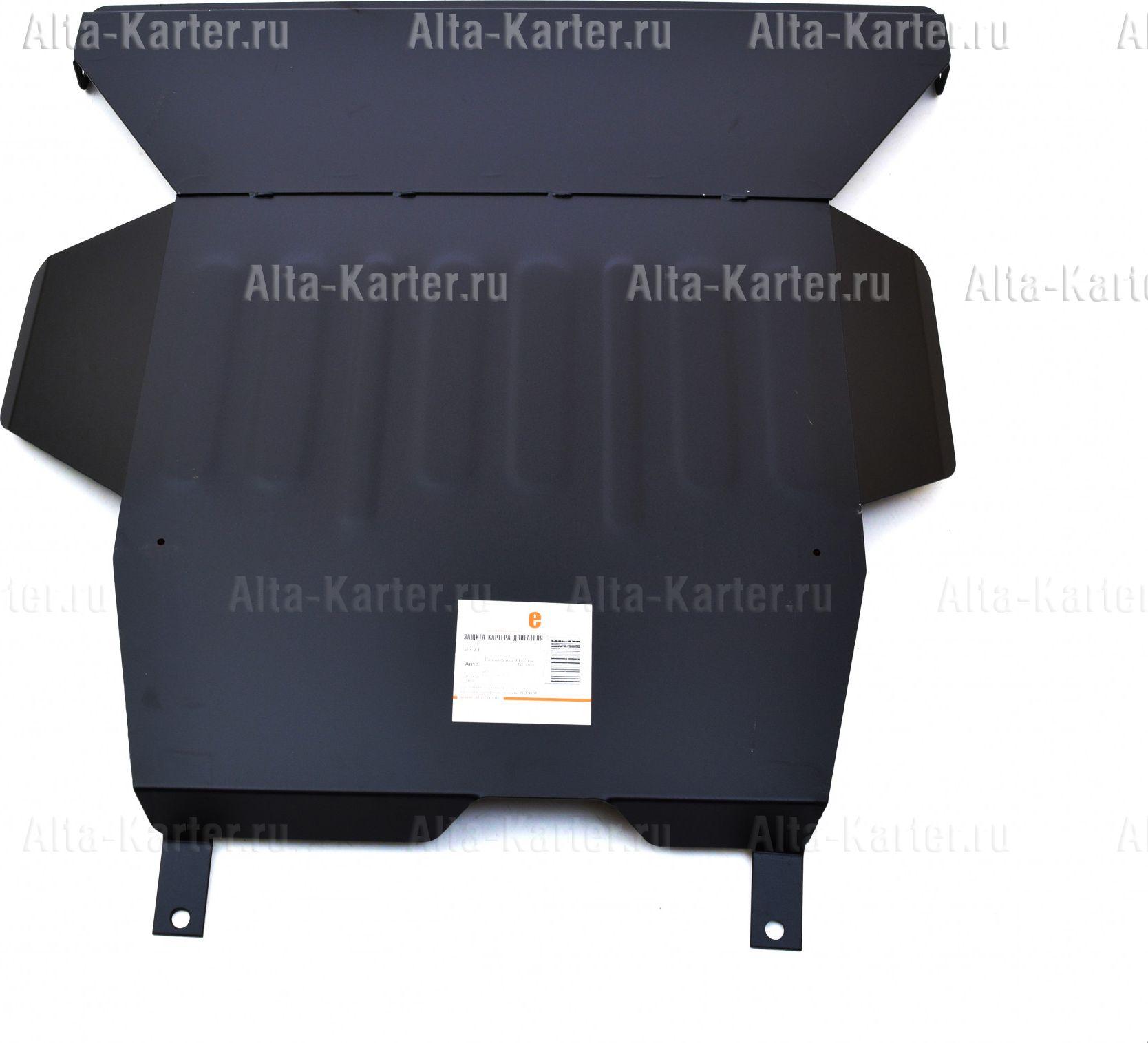 Защита Alfeco для картера и КПП Honda Civic VI 1996-2000. Артикул ALF.09.11