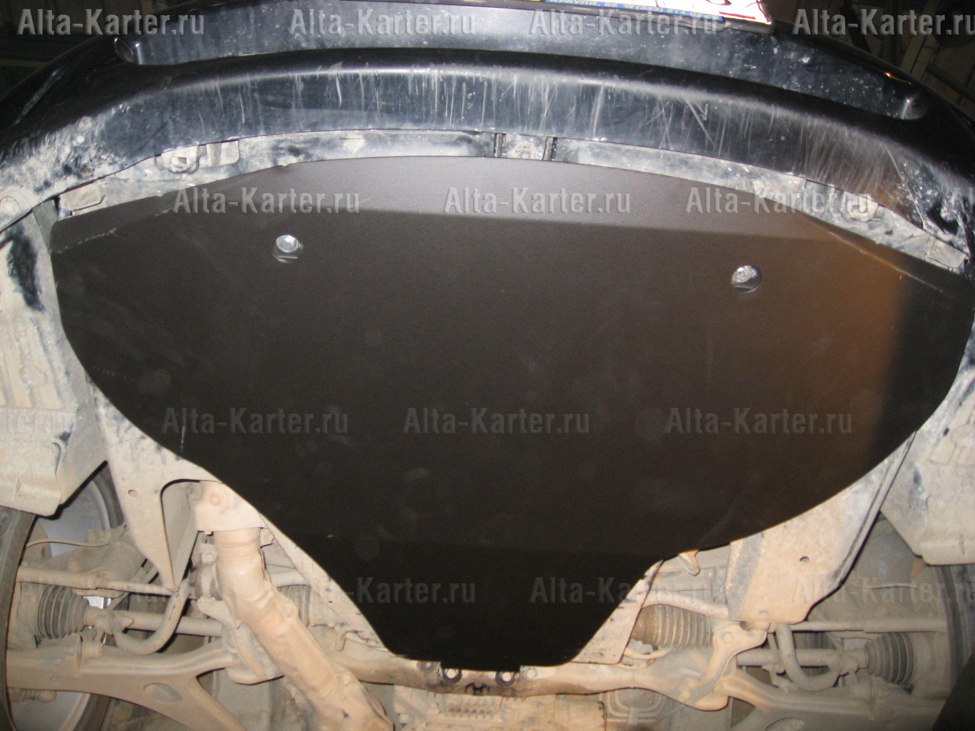 Защита Alfeco для картера (большая) Subaru Legacy IV 2003-2009. Артикул ALF.22.07