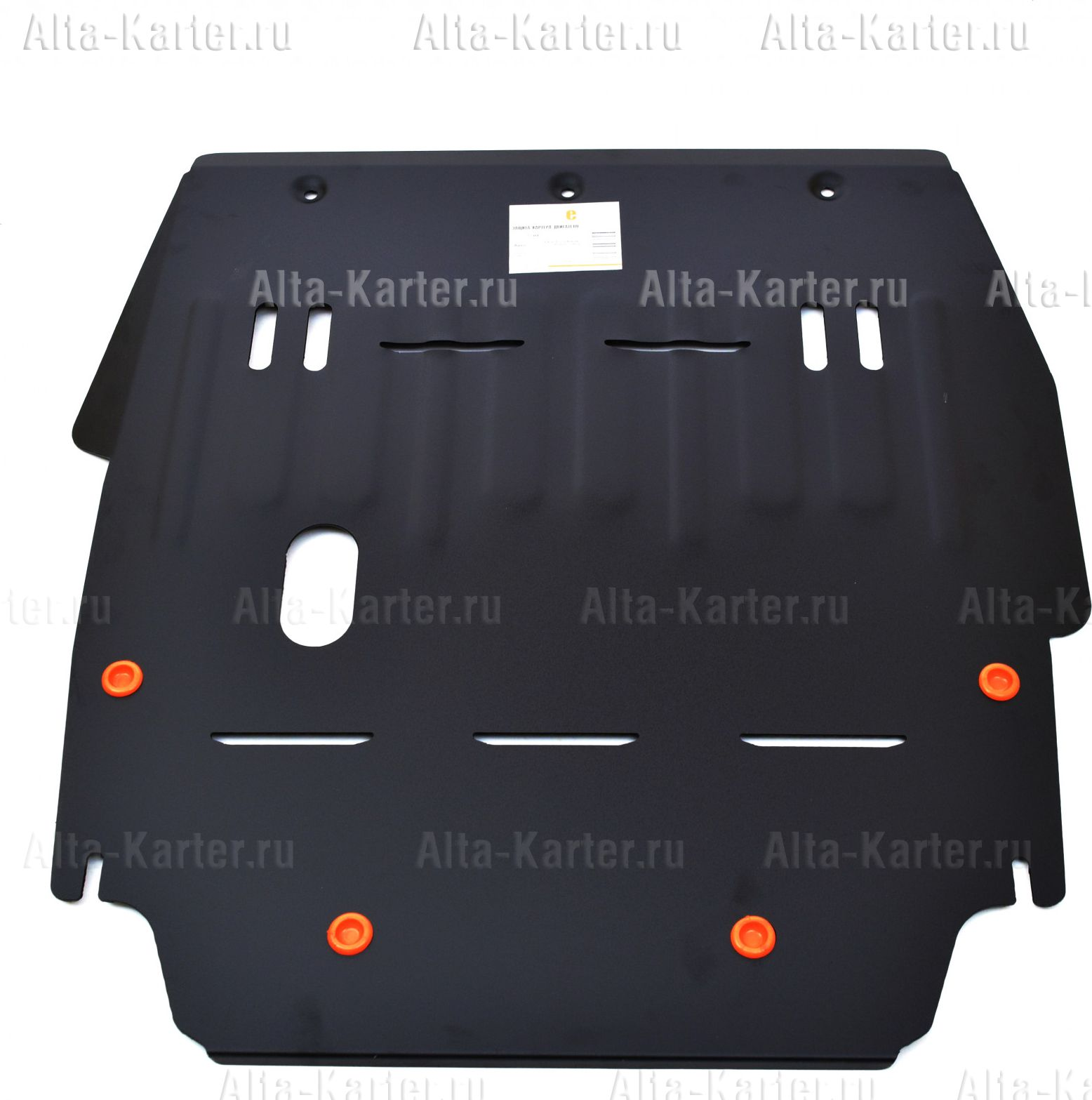Защита Alfeco для картера и КПП ГАЗ (Volga) Siber 2008-2010. Артикул ALF.25.01