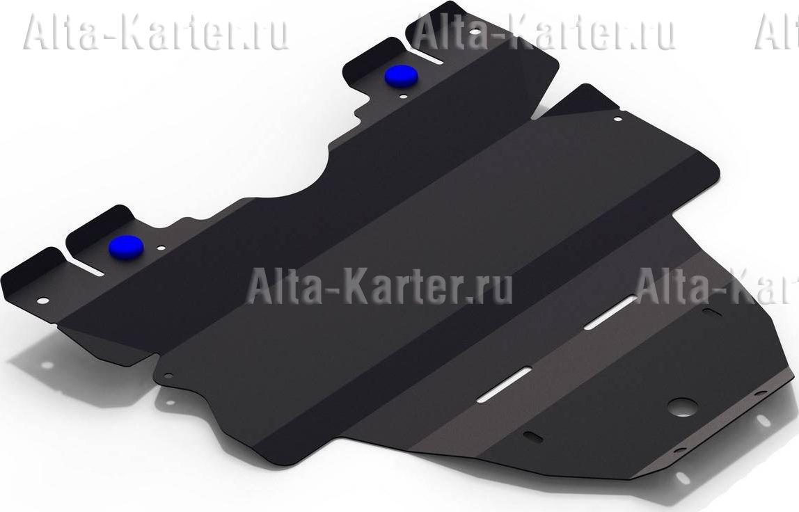 Защита Rival для картера (увеличенная) Subaru Outback IV 2010-2015. Артикул 111.5408.1