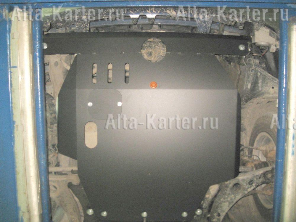 Защита Alfeco для картера и КПП Toyota Avensis T22 1997-2003. Артикул ALF.24.21