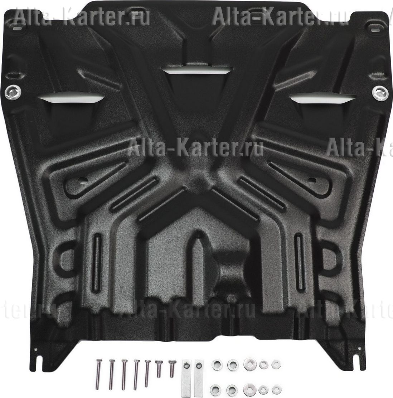 Защита AutoMax картера и КПП для Kia Optima IV 2015-2021. Артикул AM.2837.1