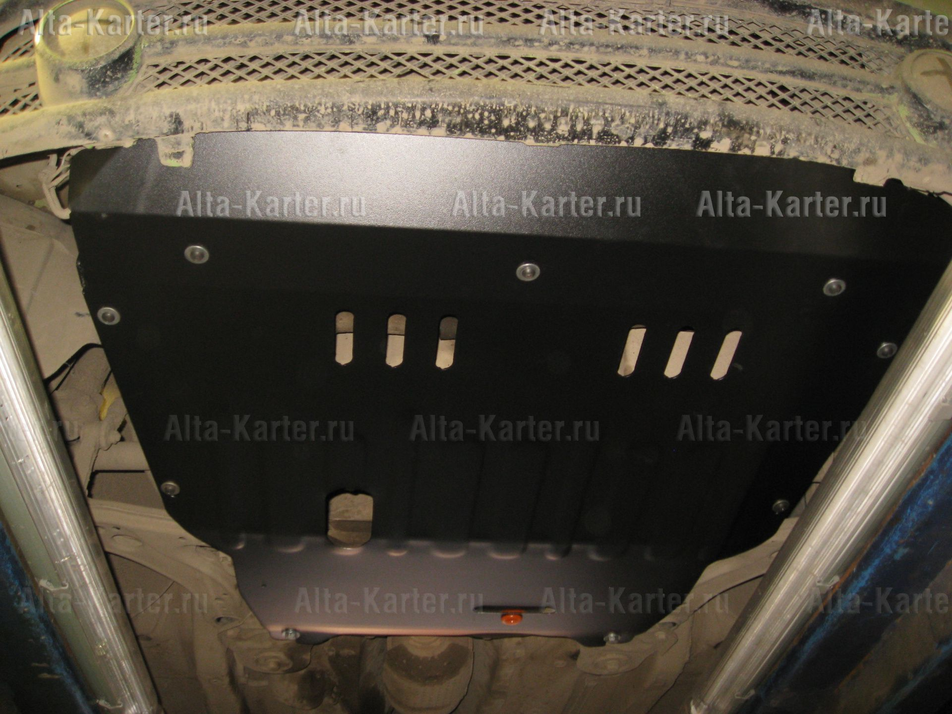 Защита Alfeco для картера и КПП Volkswagen New Beetle A4 1997-2010. Артикул ALF.26.39
