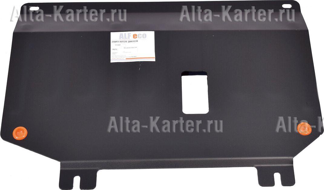Защита Alfeco для картера и КПП Mitsubishi Colt рестайлинг 2008-2012. Артикул ALF.14.85st