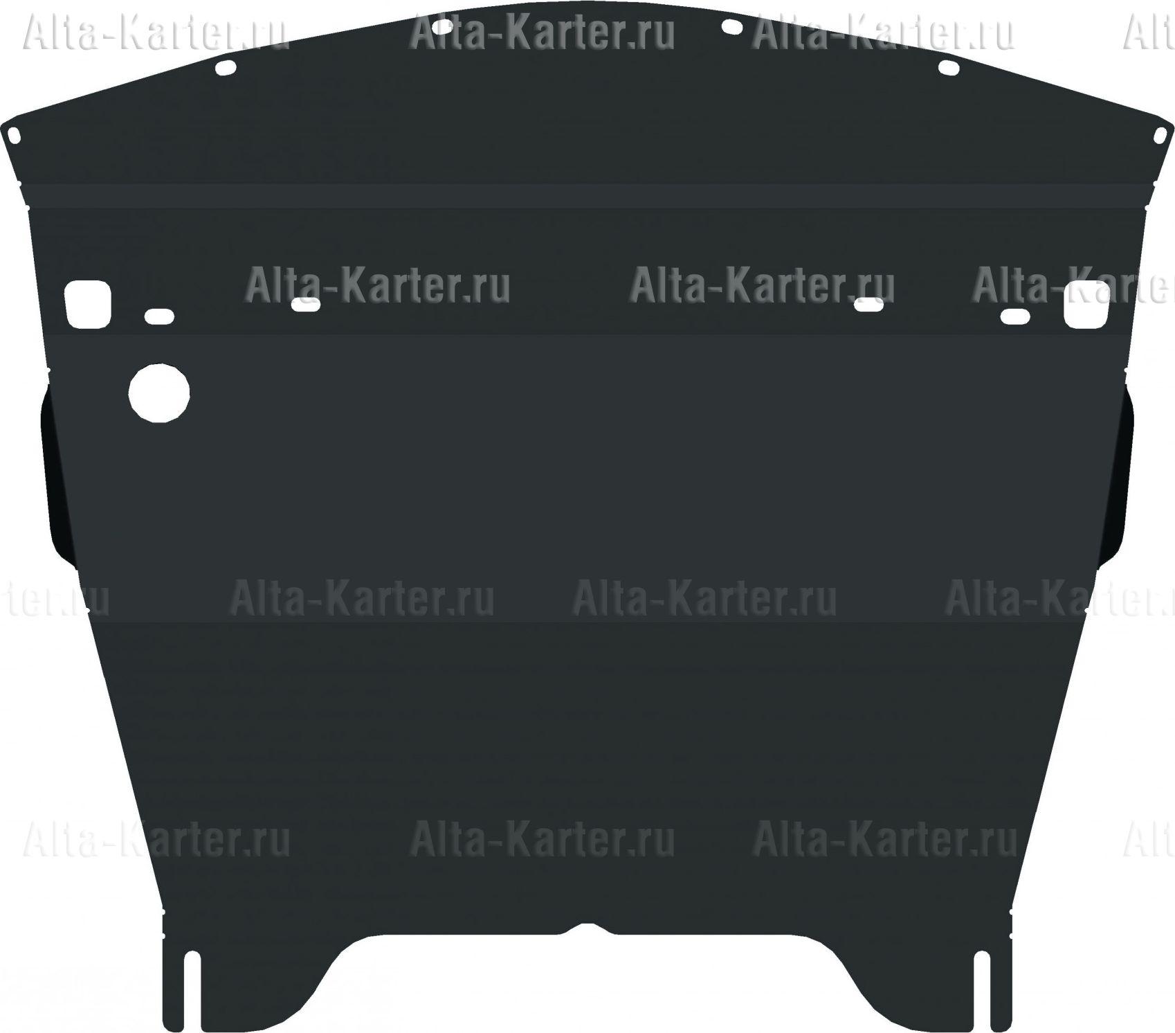 Защита Alfeco для картера Infiniti M25 2010-2013. Артикул ALF.29.17