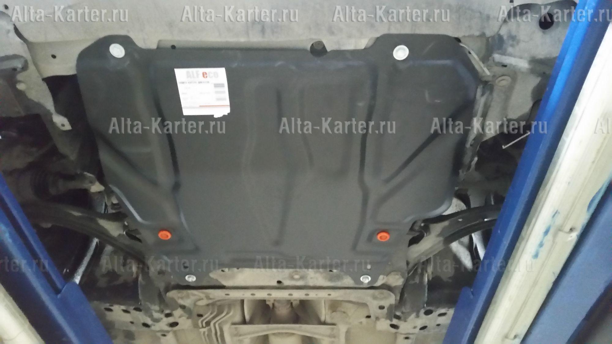 Защита Alfeco для картера и AКПП Nissan Note I (е11) 2005-2013. Артикул ALF.15.15