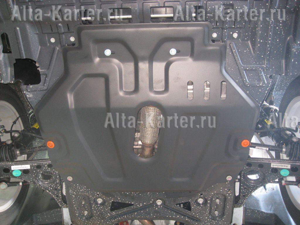 Защита Alfeco для картера и КПП Opel Mokka 2012-2021. Артикул ALF.16.12 st