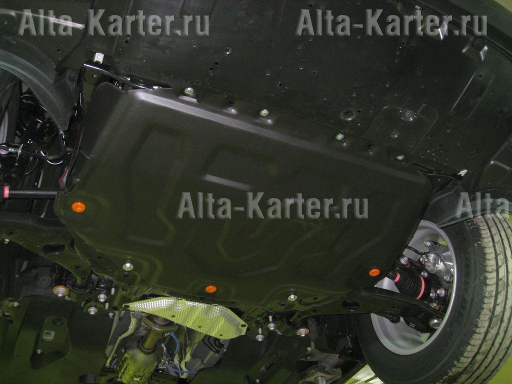 Защита Alfeco для картера и КПП Mazda 3 III 2013-2018. Артикул ALF.13.07