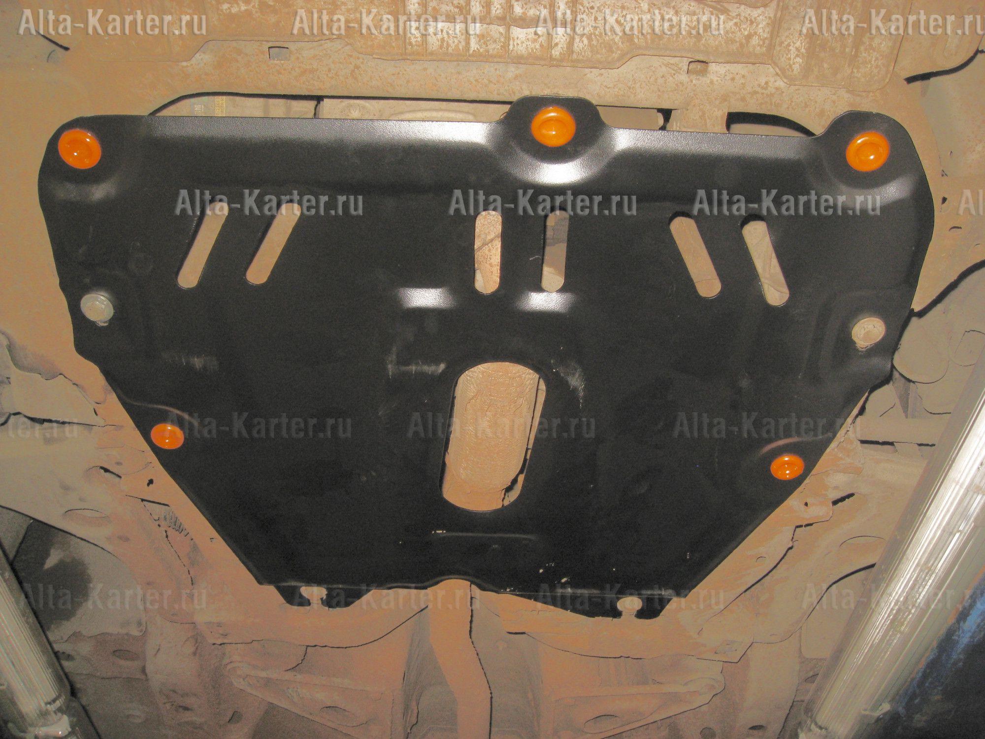 Защита Alfeco для картера и КПП Opel Astra H 2004-2010. Артикул ALF.16.02