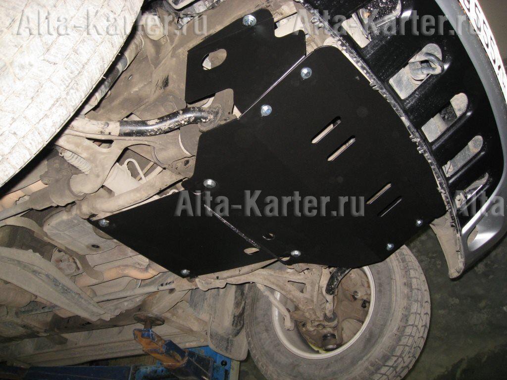 Защита Alfeco для радиатора, картера и АКПП Mercedes-Benz M-Класс (ML320) W163 1997-2005. Артикул ALF.36.08
