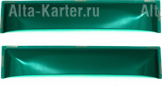 Дефлекторы REIN для окон (вставной) (2 шт.) КАМАЗ 1976 по наст. вр. Зеленый. Артикул REINWV822Z