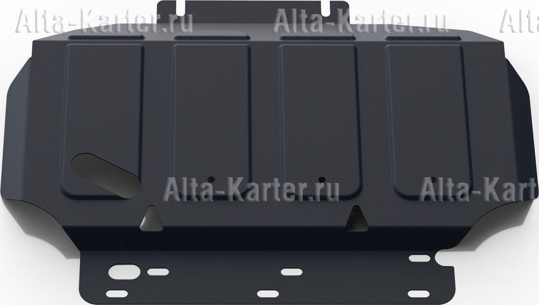 Защита Rival для картера Nissan Pathfinder R51 2005-2015. Артикул 111.4105.2
