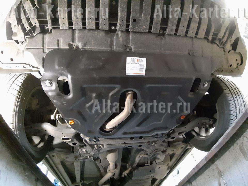 Защита 'Alfeco' для картера и КПП Toyota Mark X ZiO 2WD/4WD 2007-2013. Артикул ALF.24.65 st